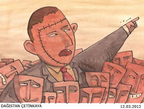 Mart 2012 Gündem Karikatürleri 1