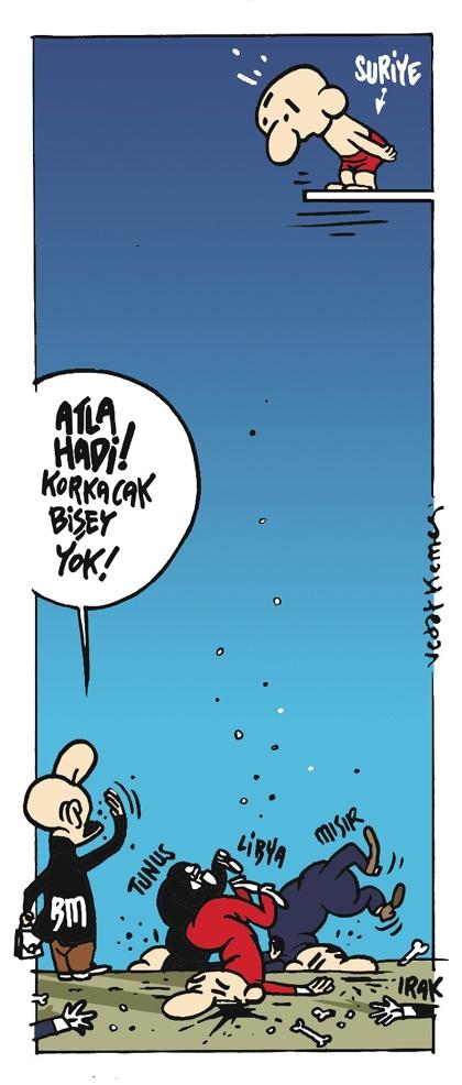 Mart 2012 Gündem Karikatürleri 2