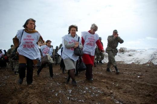 CHP'li Kadın Vekiller Kürecik'te 1