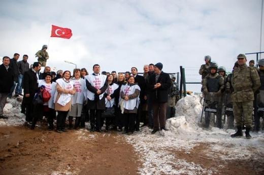 CHP'li Kadın Vekiller Kürecik'te 4