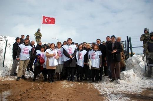 CHP'li Kadın Vekiller Kürecik'te 5