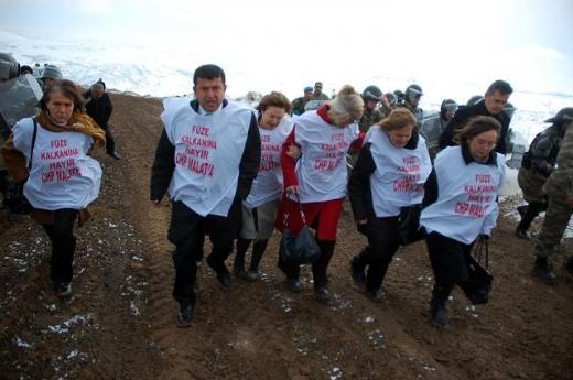 CHP'li Kadın Vekiller Kürecik'te 6