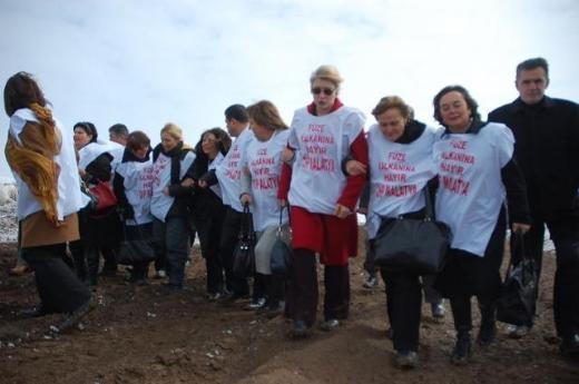 CHP'li Kadın Vekiller Kürecik'te 8