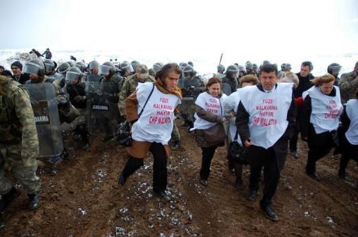 CHP'li Kadın Vekiller Kürecik'te 9
