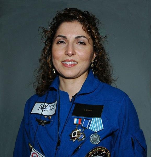 İranlı Uzay Kaşifi Anousheh Ansari 2