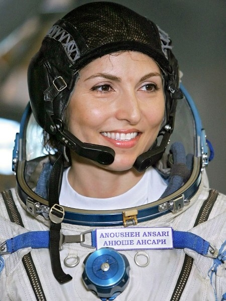 İranlı Uzay Kaşifi Anousheh Ansari 7
