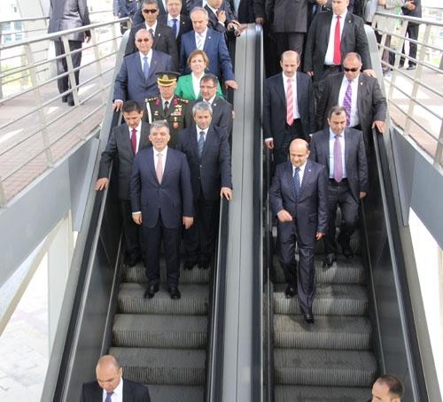 Cumhurbaşkanı Gül Kocaeli'nde 5