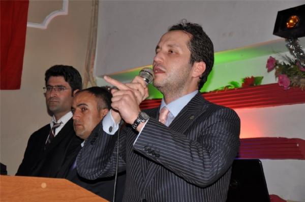 Fatih Erbakan Dilovası'nda 1