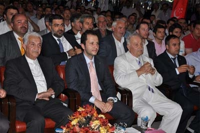 Fatih Erbakan Dilovası'nda 2