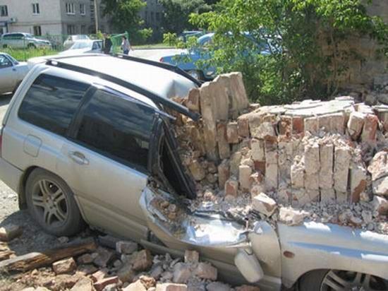 İlginç Araba Kazaları 10