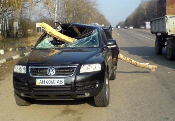İlginç Araba Kazaları 2