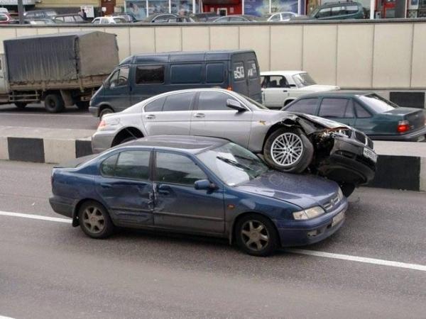 İlginç Araba Kazaları 3