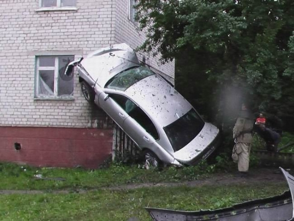 İlginç Araba Kazaları 5