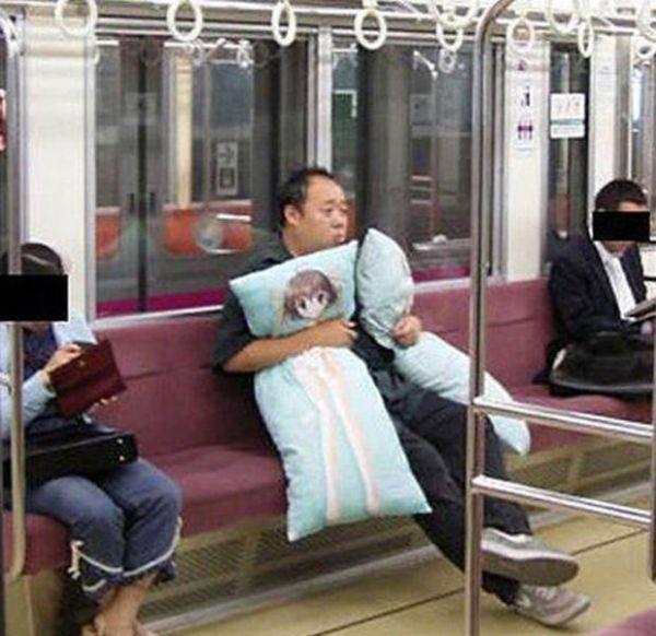 Metroda İlginç Kareler 11