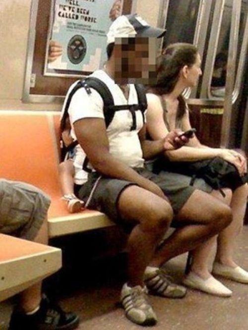 Metroda İlginç Kareler 2