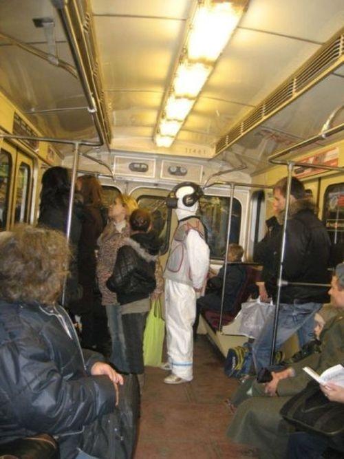 Metroda İlginç Kareler 4