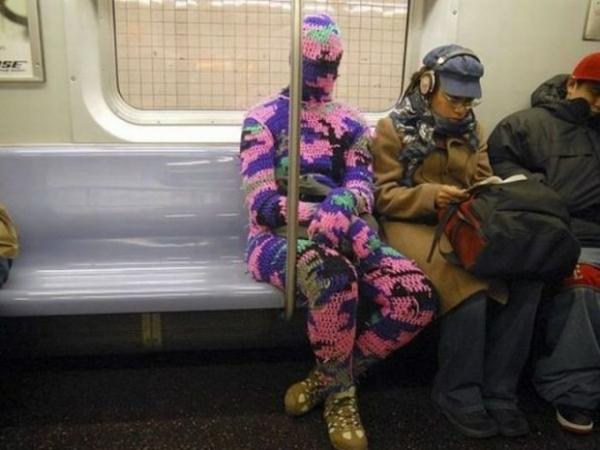 Metroda İlginç Kareler 7