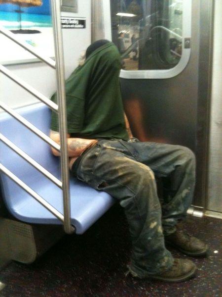 Metroda İlginç Kareler 8