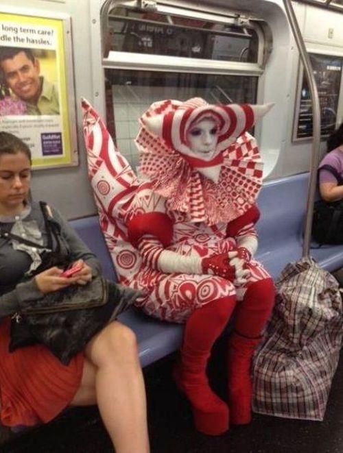 Metroda İlginç Kareler 9