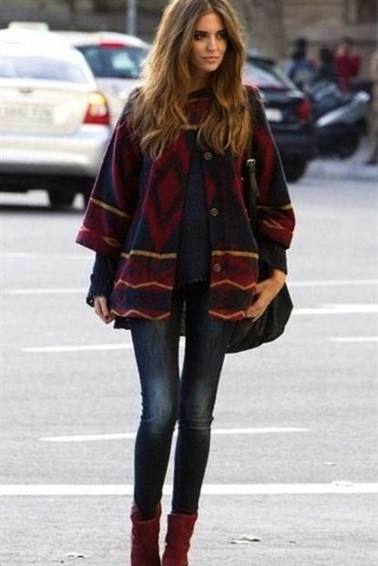 2014 kış sokak modası 12