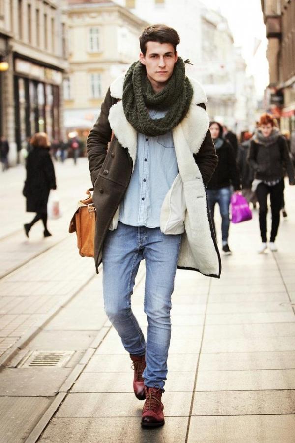 2014 kış sokak modası 4