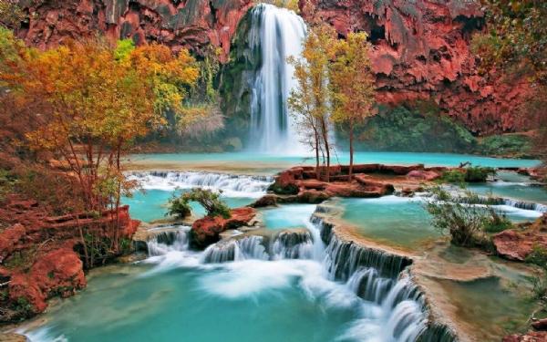 Yeşilin su ile birleşen güzelliği 5
