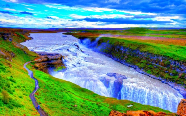 Yeşilin su ile birleşen güzelliği 6