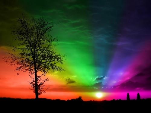 Gökyüzü rengarenk 13