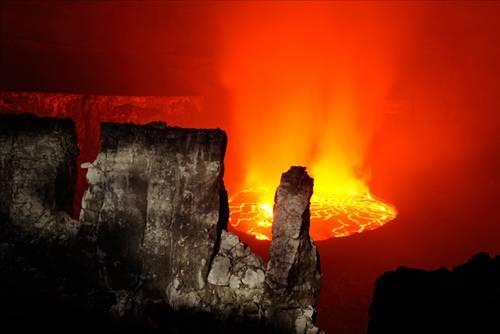 Nyiragongo Volkanı 1