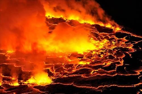 Nyiragongo Volkanı 10