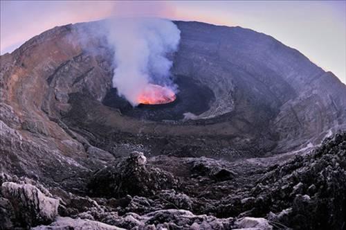 Nyiragongo Volkanı 11