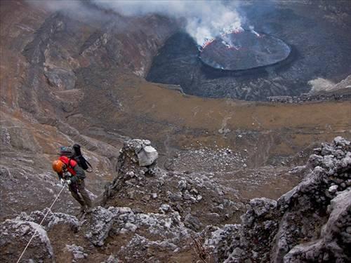 Nyiragongo Volkanı 13