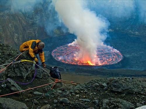 Nyiragongo Volkanı galerisi resim 14