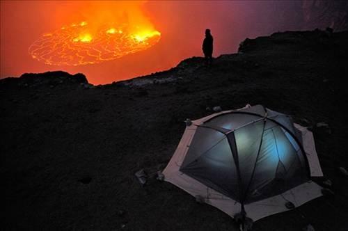 Nyiragongo Volkanı 15
