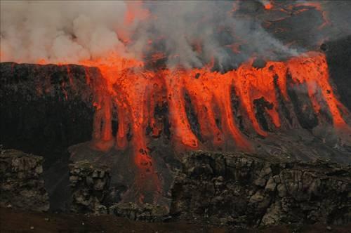 Nyiragongo Volkanı 4