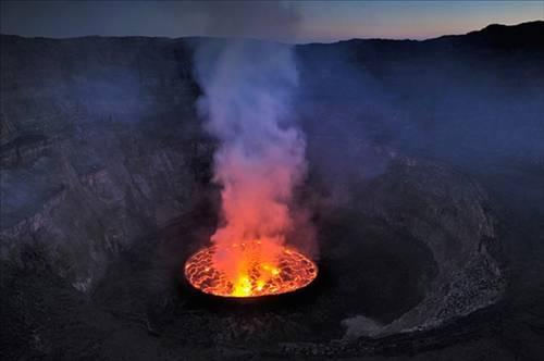 Nyiragongo Volkanı 7