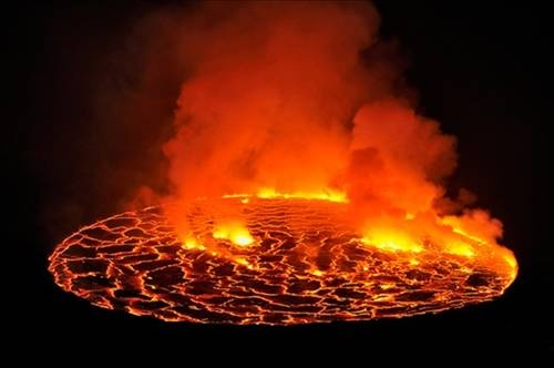 Nyiragongo Volkanı galerisi resim 8