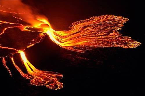 Nyiragongo Volkanı 9