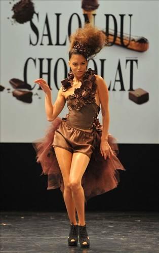 Çikolata tadında defile 5