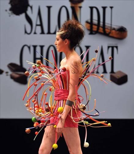 Çikolata tadında defile 6