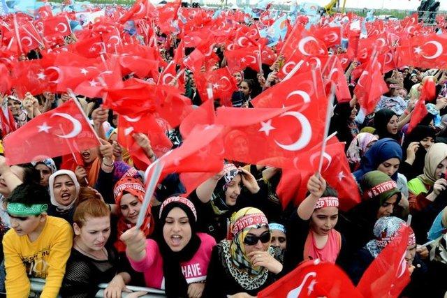 Yenikapı'da İstanbul'un Fethi'nin 562. Yılı Kutlamaları 6