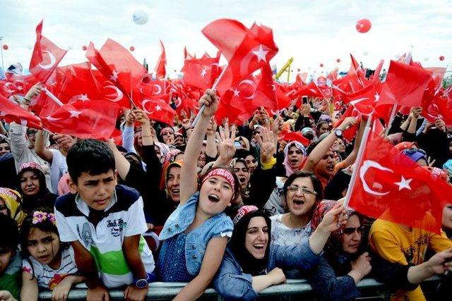 Yenikapı'da İstanbul'un Fethi'nin 562. Yılı Kutlamaları 9