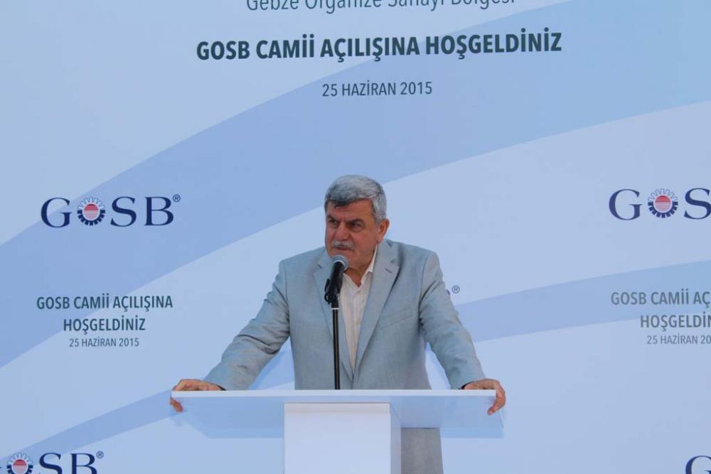 GOSB Cami açıldı 10