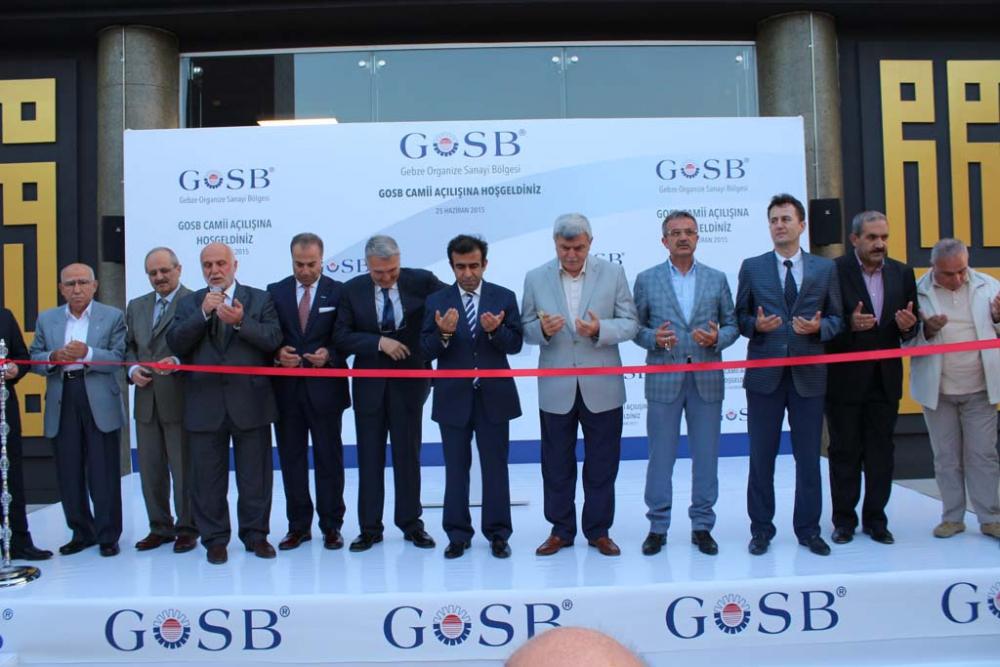 GOSB Cami açıldı 12