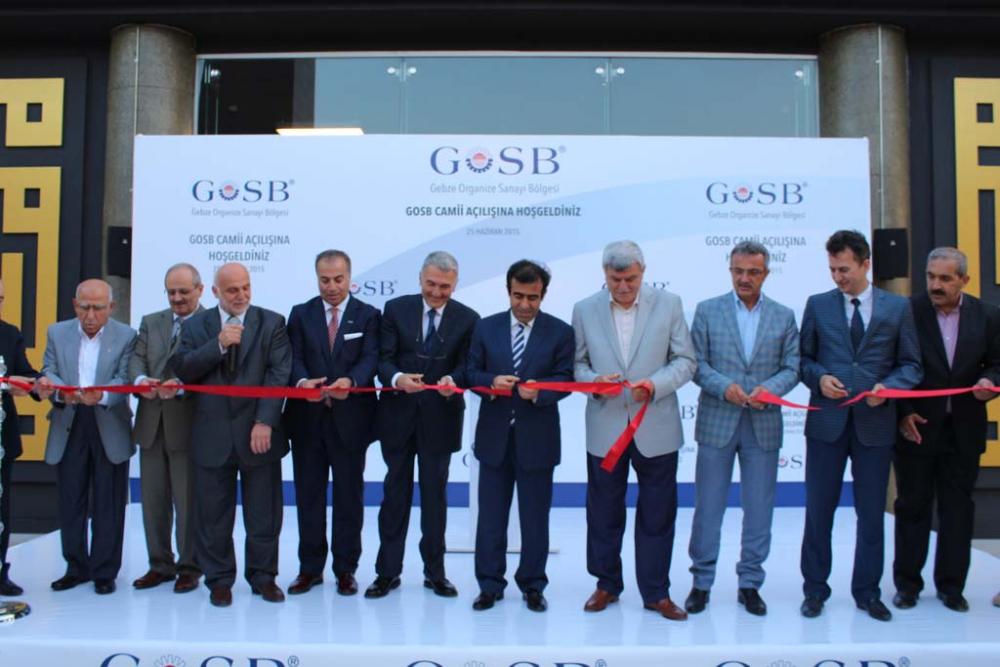 GOSB Cami açıldı 13