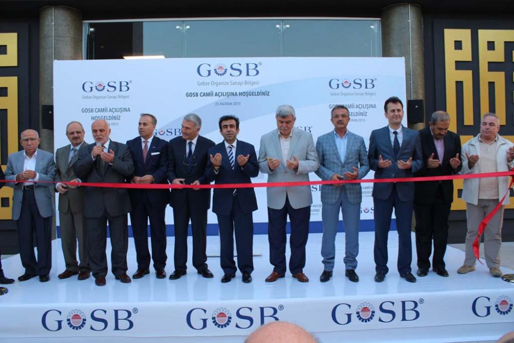 GOSB Cami açıldı 17