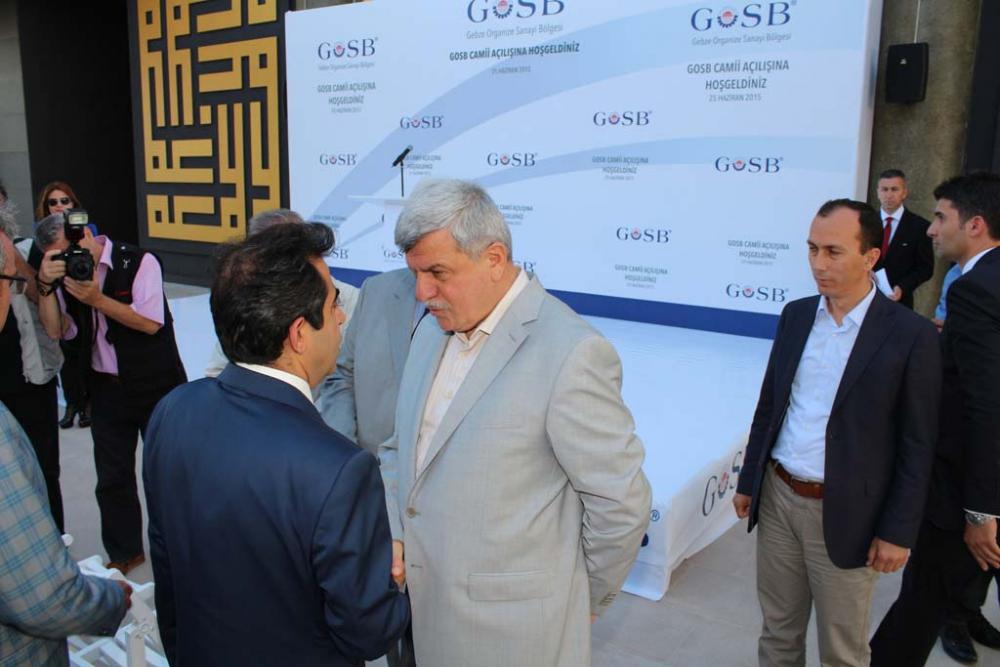 GOSB Cami açıldı 2