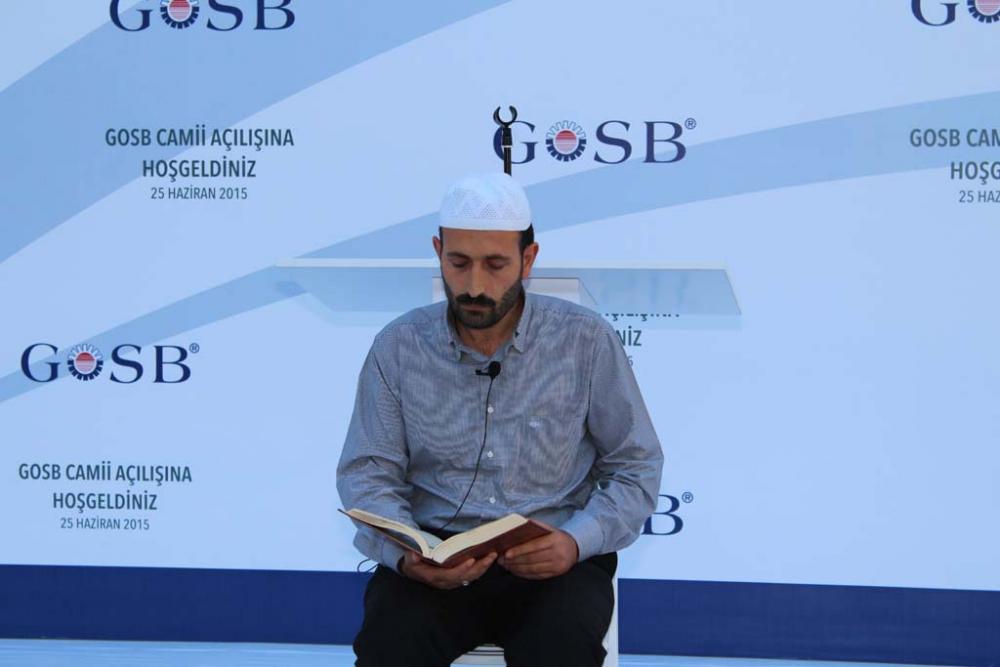 GOSB Cami açıldı 5