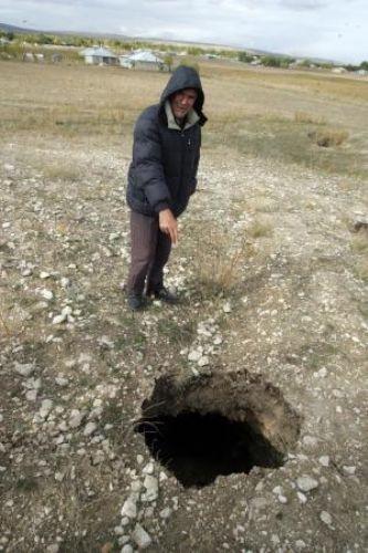 Erciş'te korkutan görüntüler 3