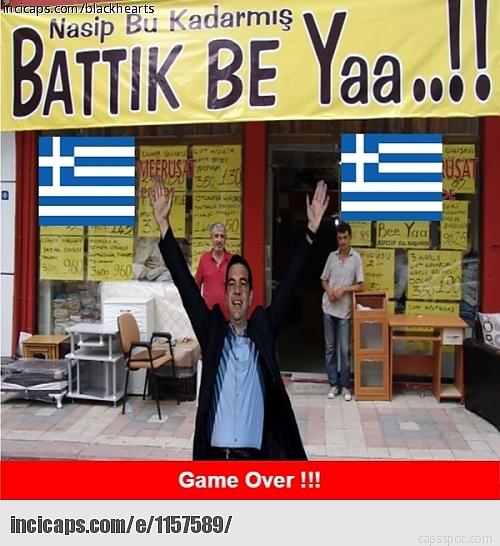 Borç Batağındaki Yunanistan İle İlgili Yapılmış 28 Caps 20